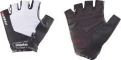 Witte GripGrab ProGel handschoenen - Handschoenen met korte vingers
