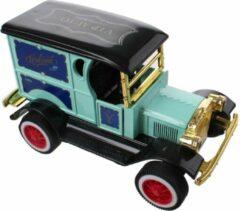 Toi Toys BV Classic Car Metal Pull back VIP (Lichtblauw) 12 cm -Toys - Modelauto - Schaalmodel - Model auto - Miniatuur auto - Miniatuur autos
