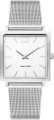 Zilveren Danish Design watches edelstalen dameshorloge Miami Silver Mesh IV62Q1248