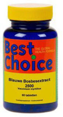 Best Choice Best Choise Blauwe Bosbes 60 tabletten