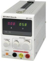 Basetech BT-153 Bench PSU (adjustable voltage) 0 - 15 V DC 0 - 3 A 45 W No. of outputs 1 x