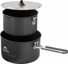 MSR - Ceramic Pot - Pan maat 2 x 2,5 l, zwart/grijs