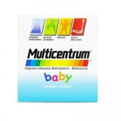 Multicentrum Baby Multivitaminico Multiminerale Per Bambini 14 Bustine Bipartite