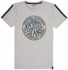 Grijze T-shirt Korte Mouw Kaporal ELMER