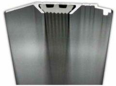 Witte Liniaal Aristo 30cm aluminium met rubber inleg