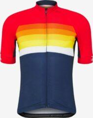 Rode Giro Chrono Expert Fietsshirt Bright Red Horizon L
