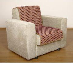 Sesselschoner Sitzflächenschoner Wolle Noppen ca. 175 x 47 cm beige Linke Licardo beige