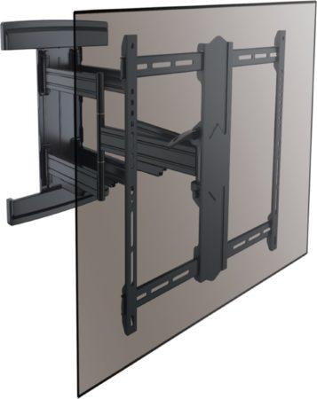 Afbeelding van Zwarte Cavus WME602 Heavy Duty TV Muurbeugel - XL TV ophangbeugel voor 37 - 80 Inch max 70 kg - Draaibare VESA TV muursteun - 800mm