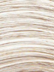 Zandkleurige Pruik Lynn Lofty wit zand, donkere aanzet