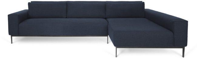 Afbeelding van I-Sofa Nobu - Hoekbank rechts - Donkerblauw