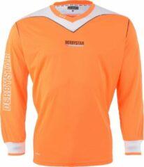 Derbystar Brillant - Keepersshirt - Kinderen - Maat 128 - Oranje/Wit/Zwart