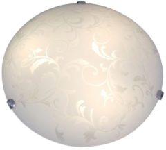 LED Deckenleuchte Näve Weiß sat.