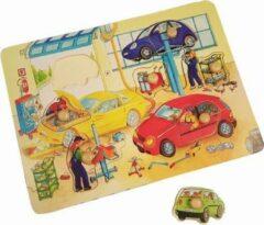 Playwood / Roel Noppen puzzel hout garage grote noppen