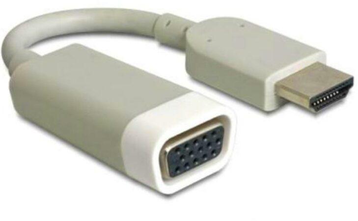 Afbeelding van DeLOCK 65469 kabeladapter/verloopstukje HDMI-A VGA Wit