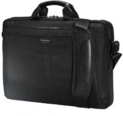 "Zwarte Everki Lunar Laptop Briefcase 18.4"" Black"