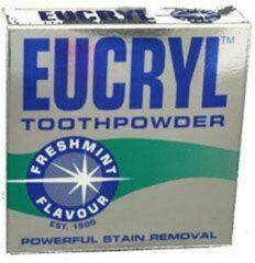 Eucryl Tandpoeder -Gratis Verzending- Voor Koffiedrinkers en Rokers vervanger voor Smokers