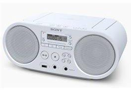 Afbeelding van Sony ZS-PS50 Radio/CD-speler FM AUX, CD, USB Wit