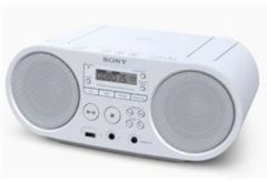 Sony ZS-PS50 Radio/CD-speler FM AUX, CD, USB Wit