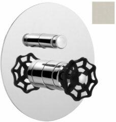Reitano Rubinetteria Reitano Industry inbouw douche mengkraan 2-wegs nikkel/zwart