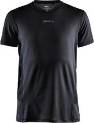 Zwarte Craft Adv Essence Ss Tee M Sportshirt Heren - Black
