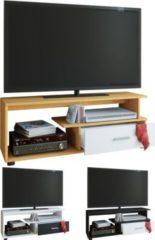 "VCM TV-Lowboard Rack Konsole Fernsehtisch Möbel TV Bank Tisch Holz Schrank ""Rimini"""