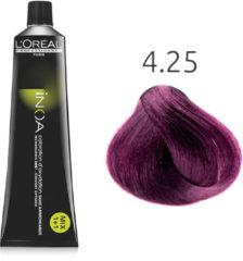 L'Oreal Professionnel L'Oréal - INOA - 4.25 Iriserend Mahonie-Kastanjebruin - 60 gr