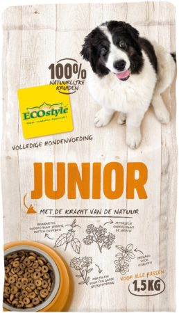 Afbeelding van Ecostyle VitaalCompleet Puppy & Junior Hondenvoer - 1.5 kg