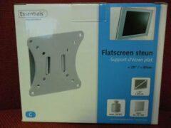 Zilveren Essentials Monitor flatscreen muursteun geschikt tot 25 Inch