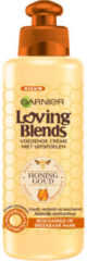 Garnier Loving Blends Honing Goud Leave-in Crème - Haarcrème - 200 ml