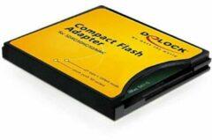 DeLOCK Compact Flash adapter voor SD geheugenkaarten - CF type II