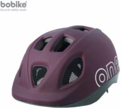 Donkerbruine Bobike ONE - Kinderhelm - Maat S (52-56 cm) - Coffee Brown