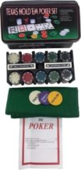 Clown Games Texas hold'em poker set