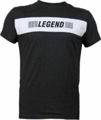 Legend Sports T-shirt zwart mesh Legend inspiration quote M