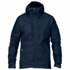 Blauwe Fjällräven - Skogsö Jacket - Outdoorjack maat XL blauw/zwart