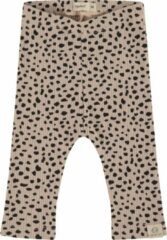 Babyface regular fit broek met all over print lichtbruin