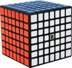 7x7 Speedcube - Puzzel Kubus - Zwart Magic Cube - Moyu Meilong