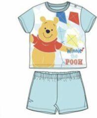 Disney Winnie the Pooh Baby pyjama - lichtblauw - maat 74 / 9 maanden