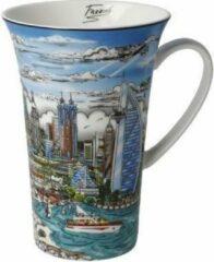 Charles Fazzino Illusions over Dubai - Artist Mug