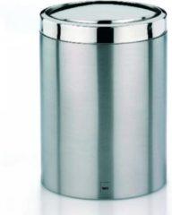 Witte Ari Afvalemmer Swing - 7 Liter - Zilver - Kela