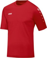 Rode Jako Team SS T-shirt Heren Sportshirt performance - Maat XL - Mannen - rood