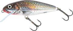Zilveren Salmo Perch Floating - Plug - Holo Grey Shiner - 12cm
