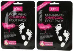 XBC XPEL Charcoal Fußmaske - 2er Set