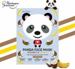Montagne 7Th Heaven - Face Food Panda Face Mask Moisturizing Mask In Banana & Coconut Plough 1Pcs