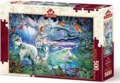 Art Puzzle Glacier Forest Puzzel 500 Stukjes
