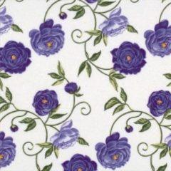 "TiFlair Ti-flair servetten ""Peony lilac"" Pioenroos paars 33 x 33"