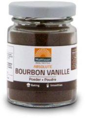 Bruine Mattisson / Bourbon Vanilla Vanille Poeder - 30 gram