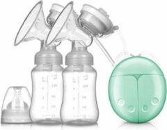 Blauwe Merkloos / Sans marque Dubbele Elektrische Borstkolf Kolfapparaat - BPA-Vrij - 150 ml