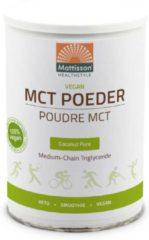 Mattisson / Vegan MCT Poeder Coconut Pure - 300 gram