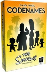 Usaopoly Codenames: The Simpsons Family Edition