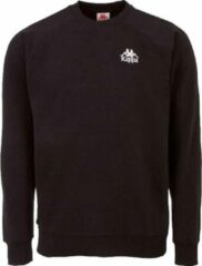 Kappa Taule Sweatshirt 705421-19-4006, Mannen, Zwart, Sporttrui casual, maat: S EU